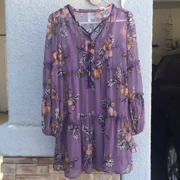 Xhilaration Dresses & Skirts - Boho Floral Target Dress